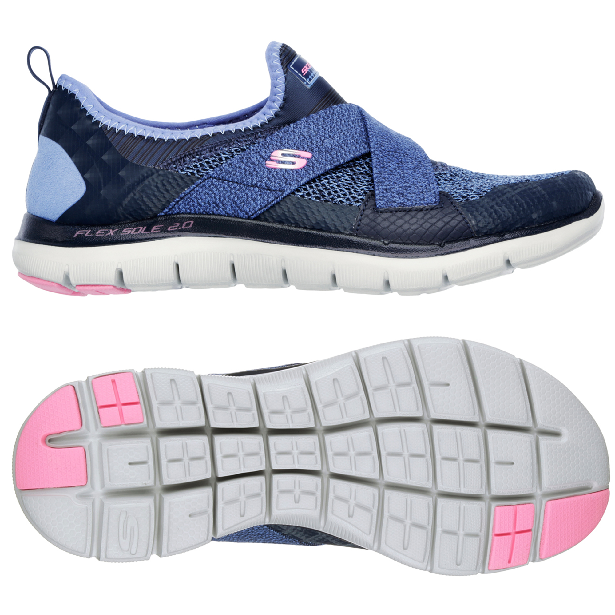 Skechers Flex Appeal New Image Ladies Walking Shoes  8 UK