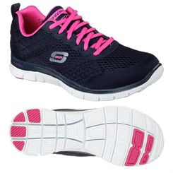 Skechers Flex Appeal Obvious Choice Ladies Training Shoes