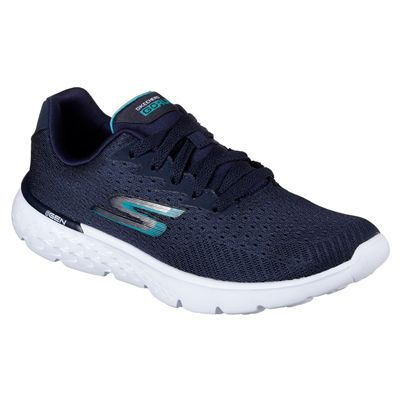 Skechers Go Run 400 Sole Ladies Running Shoes-nvw-angle
