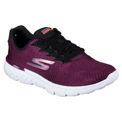 Skechers Go Run 400 Sole Ladies Running Shoes-ras-angle