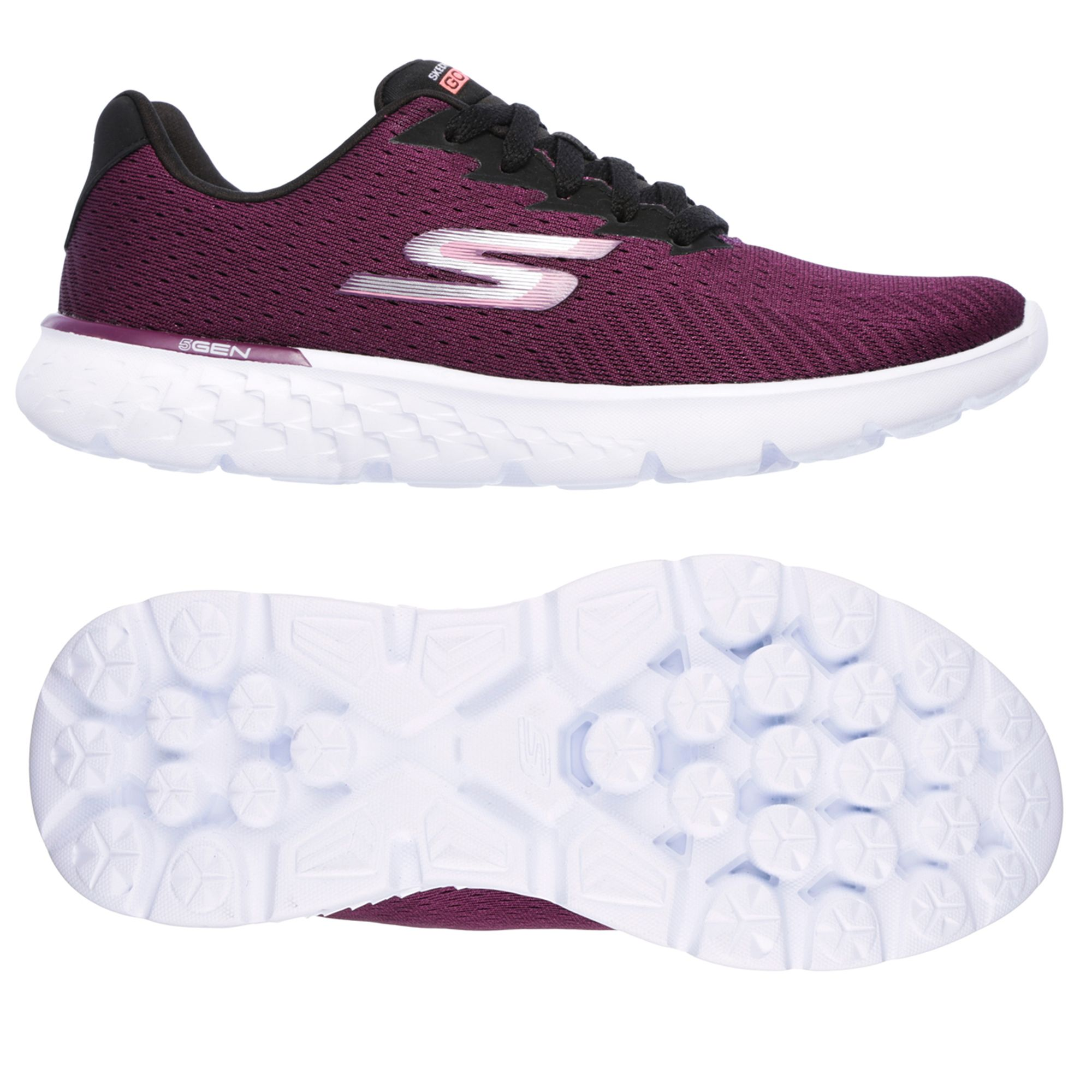 Skechers Go Run 400 Sole Ladies Running Shoes