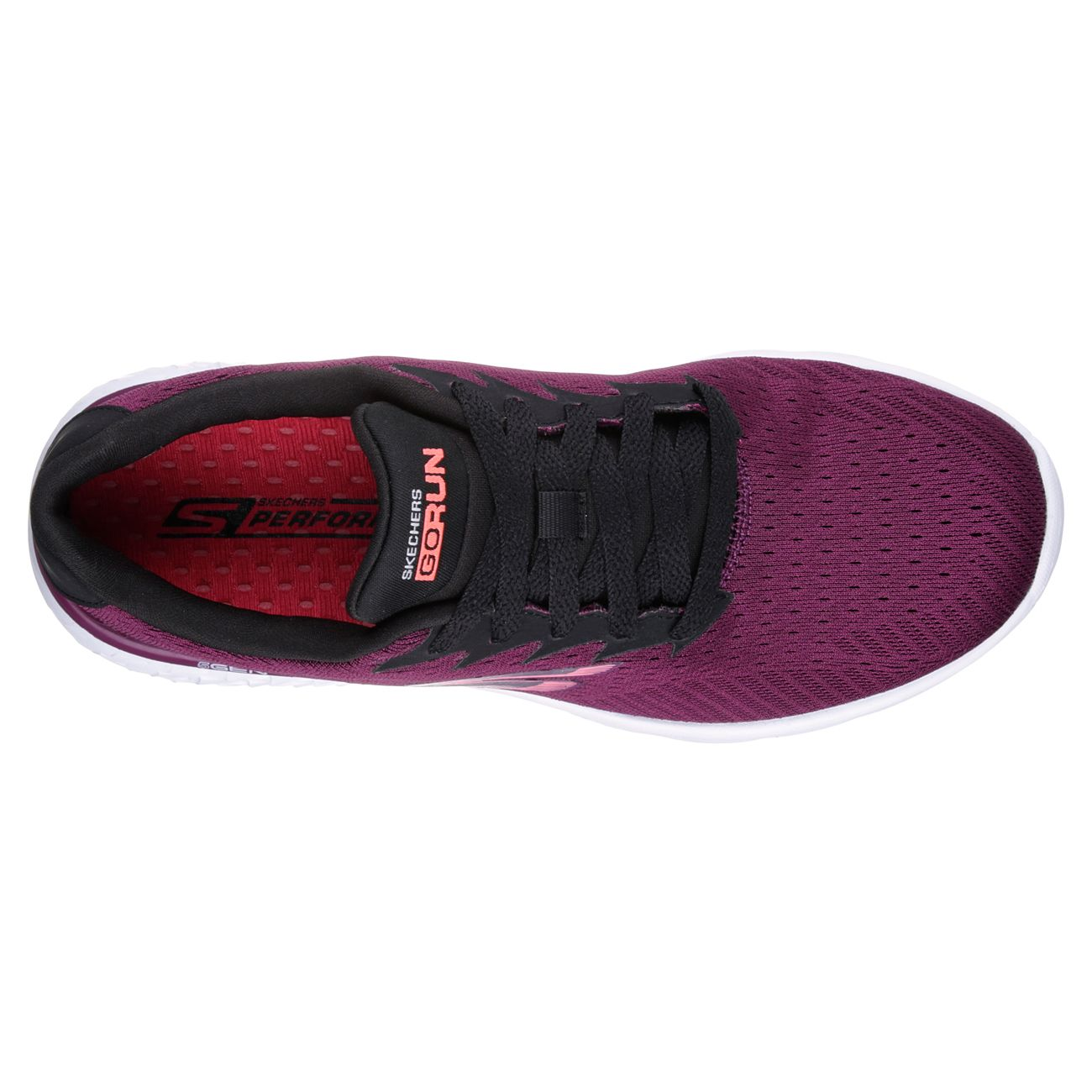 Skechers Go Run 400 Sole Ladies Running Shoes - Sweatband.com