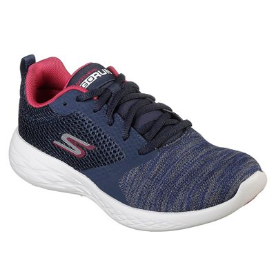 Skechers Go Run 600 Reactor Ladies Running Shoes - Angled