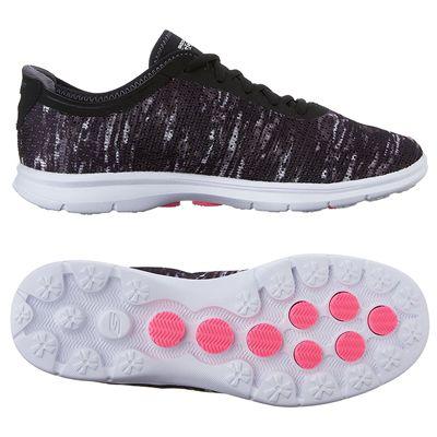 Skechers Go Step Ladies Athletic Shoes SS17- Black1