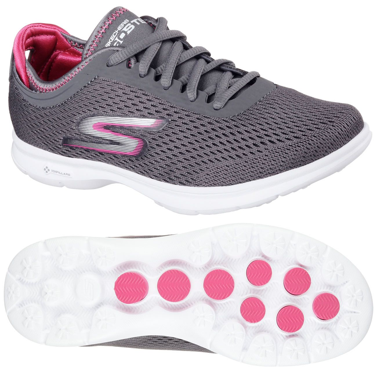 skechers go step sport ladies athletic shoes aw16