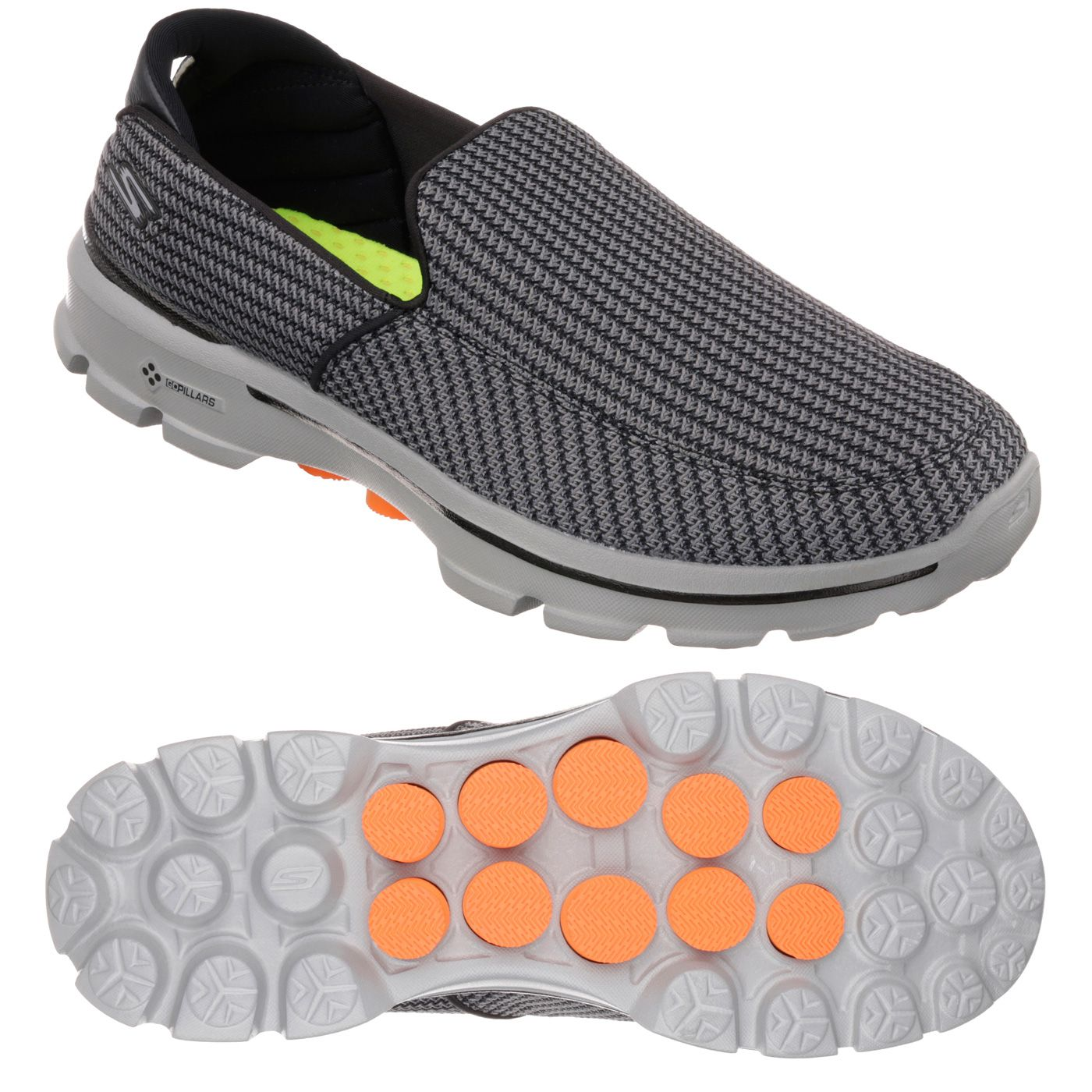 Skechers Go Walk 3 Mens Walking Shoes Ss16 Sweatband Com