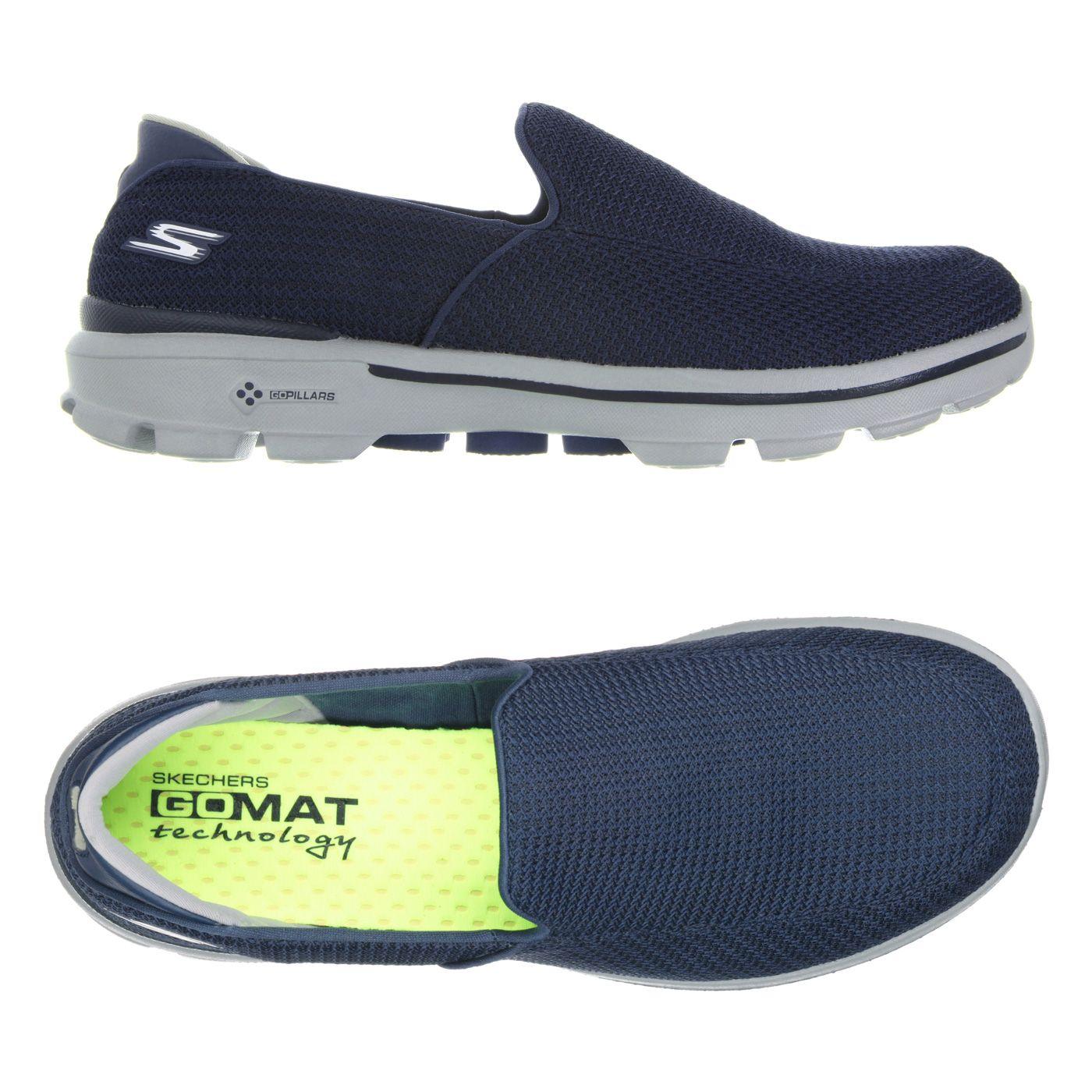 Walking Around In Running Shoes