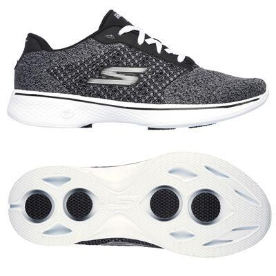 Skechers Go Walk 4 Exceed Ladies Walking Shoes-bkw-main
