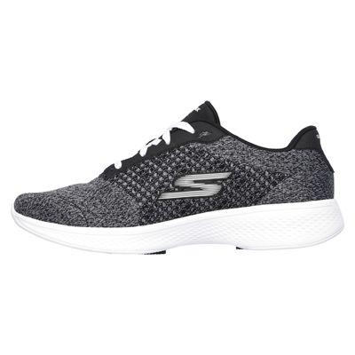 Skechers Go Walk 4 Exceed Ladies Walking Shoes-bkw-side