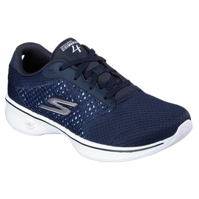 Skechers Go Walk 4 Exceed Ladies Walking Shoes-nvw-angle