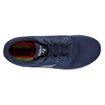 Skechers Go Walk 4 Exceed Ladies Walking Shoes-nvw-top