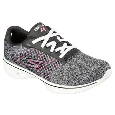 Skechers Go Walk 4 Exceed Ladies Walking Shoes SS18 - Angled