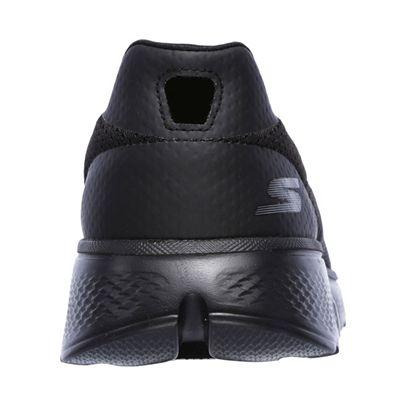 Skechers Go Walk 4 Incredible Mens Walking Shoes - Black/Back