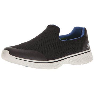 Skechers Go Walk 4 Incredible Mens Walking Shoes - Blue/Amazon