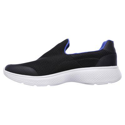 Skechers Go Walk 4 Incredible Mens Walking Shoes - Blue/Black - Side