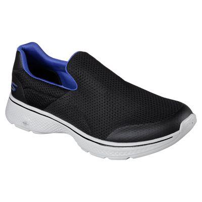 Skechers Go Walk 4 Incredible Mens Walking Shoes - Blue/Side