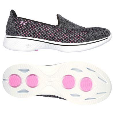 Skechers Go Walk 4 Kindle Ladies Walking Shoes-BKHP-main
