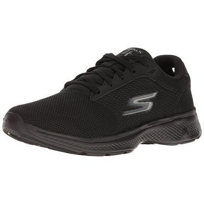 c1c0f8dadd48f Skechers Go Walk 4 Lace Up Mens Walking Shoes - Sweatband.com