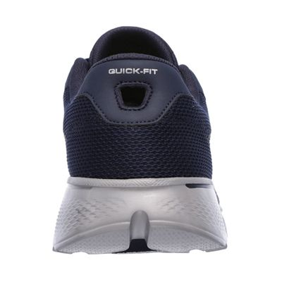 Skechers Go Walk 4 Lace Up Mens Walking Shoes - Navy/Back