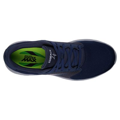 Skechers Go Walk 4 Lace Up Mens Walking Shoes - Navy/Above