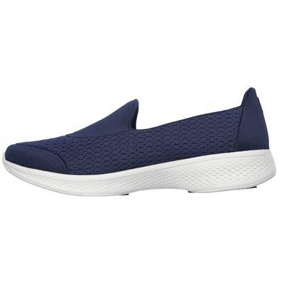 Skechers Go Walk 4 Pursuit Ladies Walking Shoes - Navy - Side