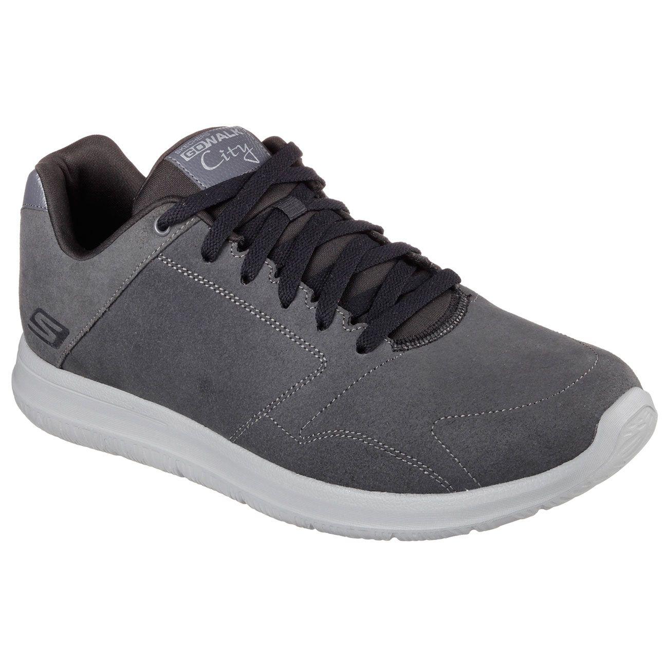 skechers go walk city retain mens walking shoes