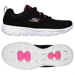 Skechers Go Walk Evolution Ultra Enhance Ladies Walking Shoes