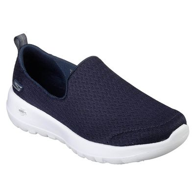 Skechers Go Walk Joy Rejoice Ladies Walking Shoes - Navy - Angled2