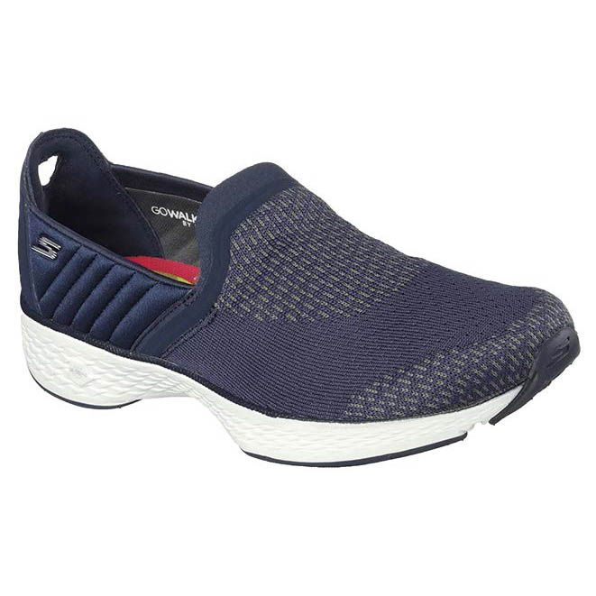 Go Step Sports Shoes Blue Slip On