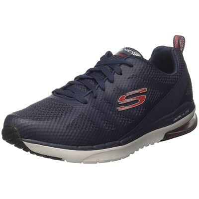 Skechers Skech-Air Infinity Kilgor Mens Training Shoes - Navy - Angled