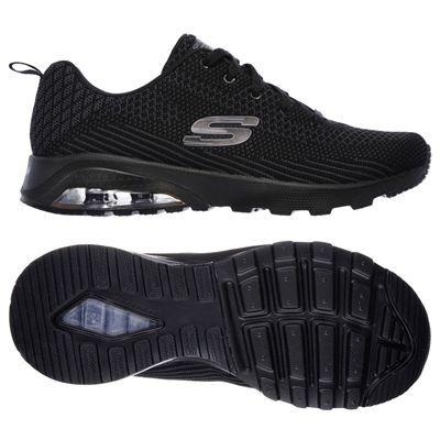 Skechers Sketch Air Extreme Awaken Ladies Walking Shoes-Black