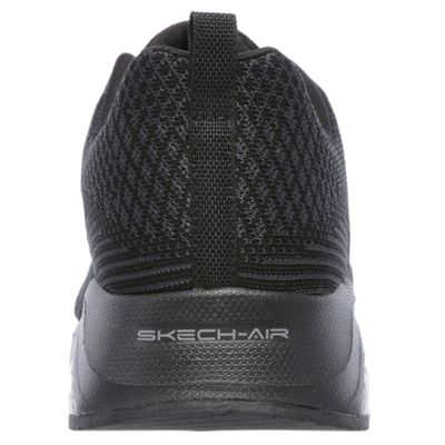 Skechers Sketch Air Extreme Mens Walking Shoes-Black-Back