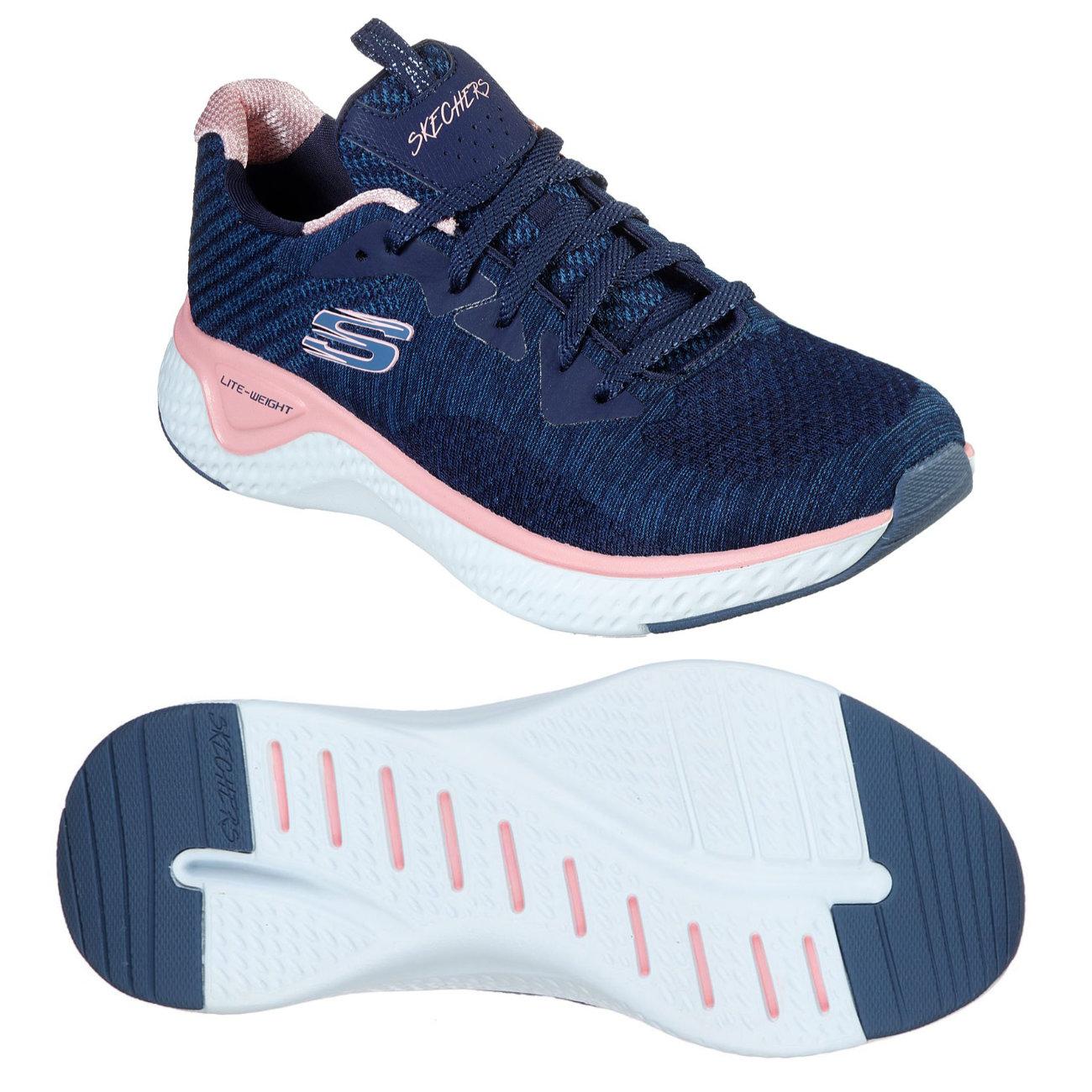 Skechers Solar Fuse Brisk Escape Ladies Training Shoes - 5.5 UK