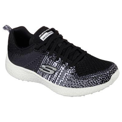 Skechers Sport Burst Ellipse Ladies Athletic Shoes-Angled