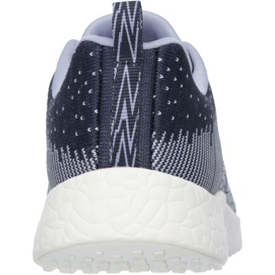 Skechers Sport Burst Ellipse Ladies Running Shoes-Navy-Back