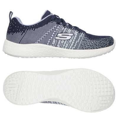 Skechers Sport Burst Ellipse Ladies Running Shoes-Navy