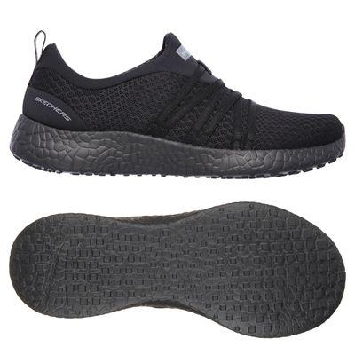 Skechers Sport Burst Very Daring Ladies Running Shoes-Black