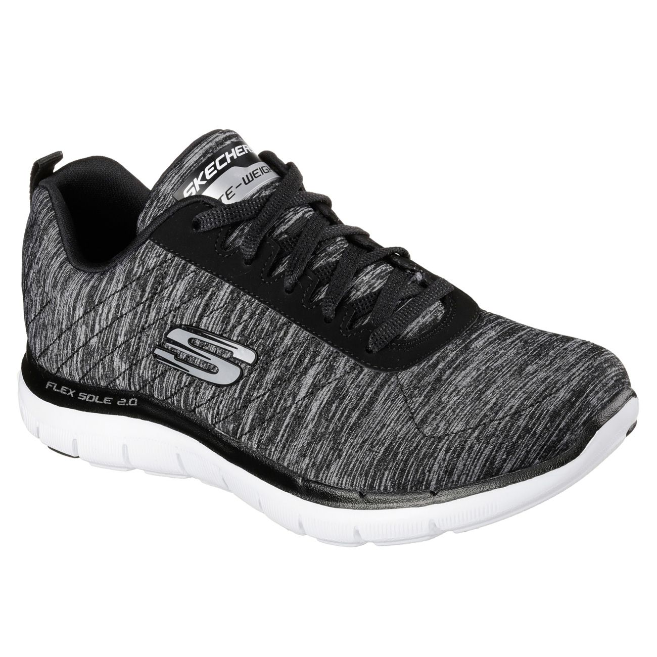 Skechers Black Shoes Womens Price