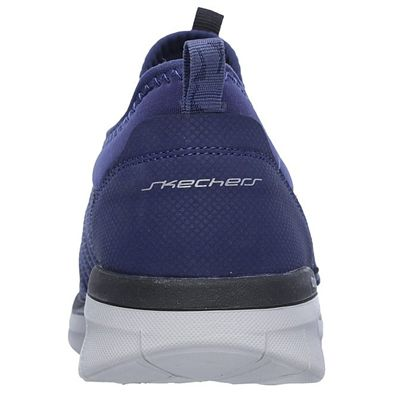Skechers Synergy 2.0 Simply Chic Ladies Walking Shoes - Navy - Back