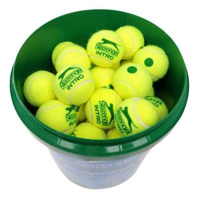 Slazenger Mini Tennis Green 60 Ball Bucket- new-a
