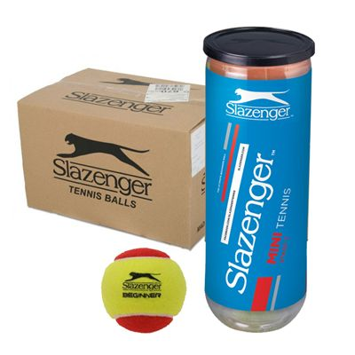 Slazenger Mini Tennis Red Balls 5 Dozen