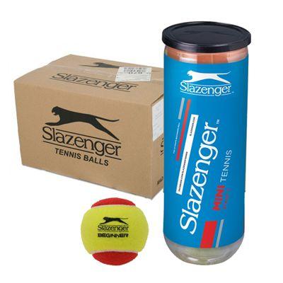 Slazenger Mini Tennis Red Balls 5 Dozen