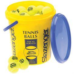 Slazenger Practice Tennis Balls - 60 Balls