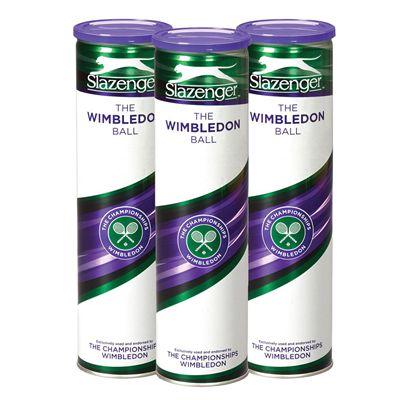 Slazenger The Wimbledon Tennis Balls 1 dozen