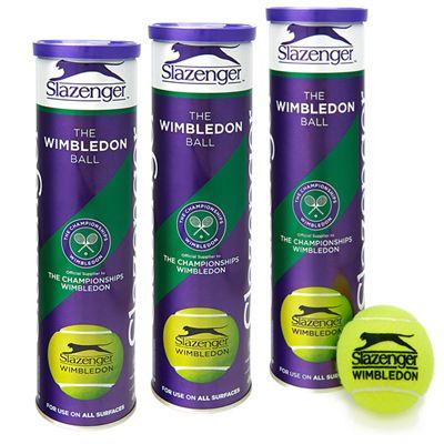 Slazenger Wimbledon Tennis Balls 1 dozen