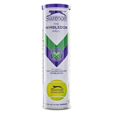 Slazenger Wimbledon Tennis Balls - 1 Dozen 2020 - Front