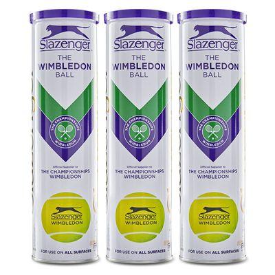 Slazenger Wimbledon Tennis Balls - 1 Dozen 2020
