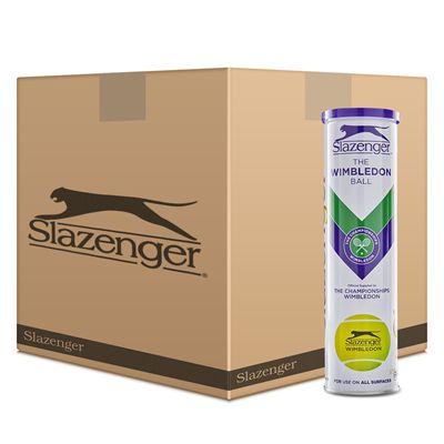 Slazenger Wimbledon Tennis Balls - 6 Dozen 2020 - Front