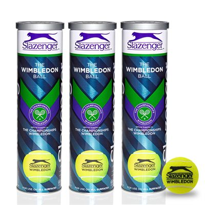 Slazenger Wimbledon Tennis Balls (1 dozen) 2018