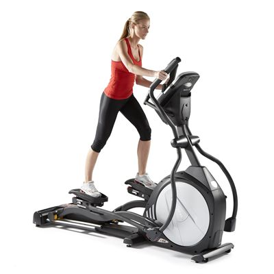 Sole E98 LC Cross Trainer Front in Use